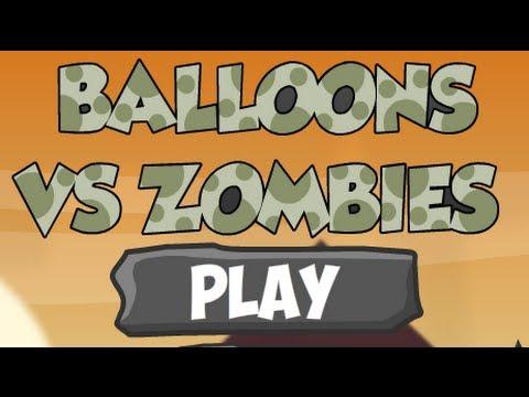 Balloons Vs Zombies-Walkthrough