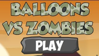 Balloons Vs Zombies-Walkthrough