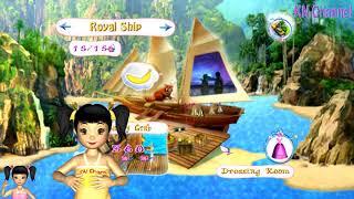 Thơ Nguyễn chơi game cuộc sống nơi hoang đảo của barbie tập 3