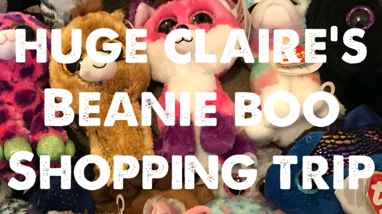 OMG!! HUGE CLAIRES HAUL - 32 BEANIE BOOS in ONE GO!! Which ones did ... 3fca2a24e4d7