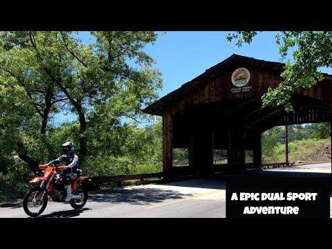 The High Sierra Diaries. Wandering through California's backbone mountain range on Dual Sport bikes