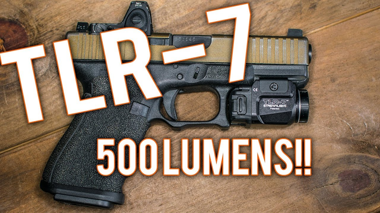 *NEW* Streamlight TLR-7 Review - Compared to other weaponlights (TLR7 vs  the world)