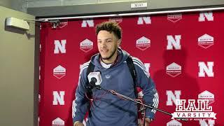 Nebraska Football: QB Adrian Martinez Talks WR Samori Toure