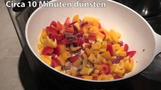 Gemüse-Reis-Pfanne mit Hackfleisch