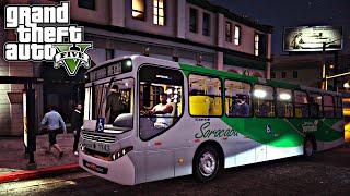 Video GTA 5: Mod Bus - Ônibus Coletivo linha Vitoria Regia download MP3, 3GP, MP4, WEBM, AVI, FLV Januari 2018