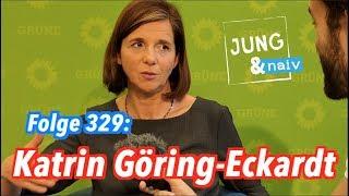 Katrin Göring-Eckardt, Spitzenkandidatin der Grünen - Jung & Naiv: Folge 329