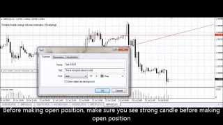 Forex Simple trading strategy using volume indicator