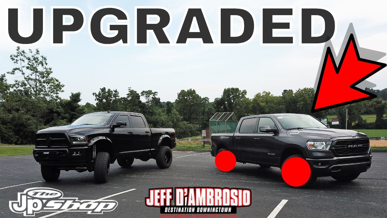 "MAKING IT EVEN BETTER 2019 Ram 1500 Leveled & 35"" Tires - YouTube"