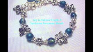 Fragile X Syndrome Awareness Jewelry by Little Inspirations