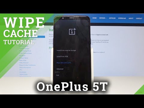 How to Wipe Cache Partition in OnePlus 5T - Reset Cache Files