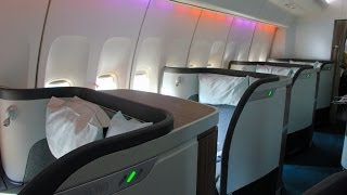 Cathay Pacific | 747-400 | HKG-HND | First Class