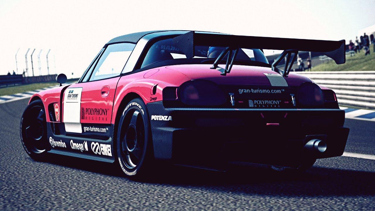 gt6 suzuki cappuccino ea21r race car 95 exhaust video [ 1280 x 720 Pixel ]