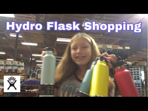 Hydro Flask Shopping! *stressful* 🙈😂