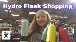 Hydro Flask Shopping! *stressful*