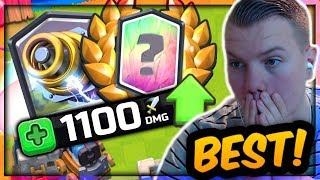 THE BEST CARD IN THE GAME! Sparky 12 Win Grand Challenge Deck! - Clash Royale