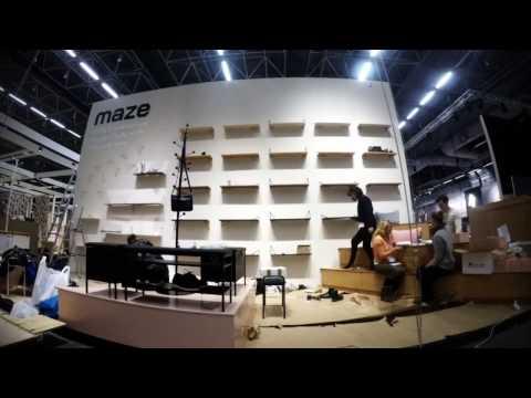 Stockholm Furniture Fair 2017 - Maze Interior