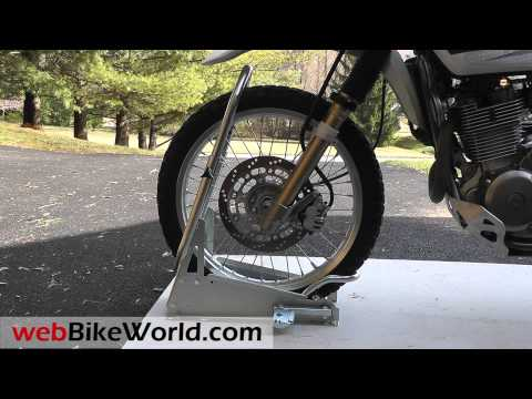 Harbor Freight Motorcycle Lift Wheel Chock Install Doovi