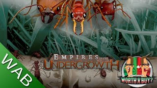 Empires of the Undergrowth (early access) - Worthabuy?