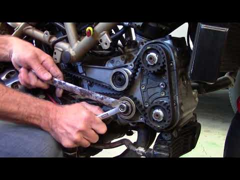 Ducati ST4 Streetfighter Cafe Build Part 6 - REVISED TIMING BELT INSTALL.