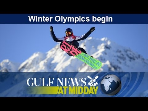 Sochi Winter Olympics begin - GN Midday