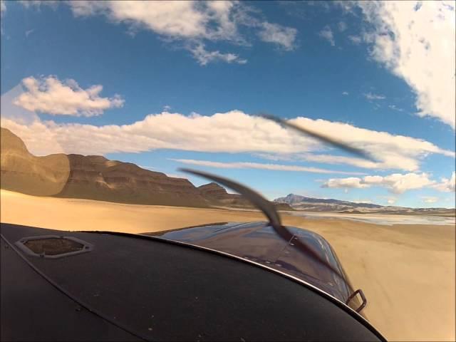 Utah IBEX Dry Lake Bed Airstrip Back Country Flight