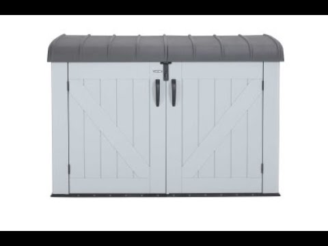 lifetime-horizontal-storage-shed-|-model-60203-|-feature-&-benefits-video