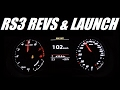 Audi RS3 Revs & Launch 0-100 Kph
