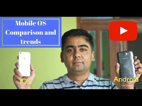 Mobile Operating System-In depth Comparison of Android and iOS