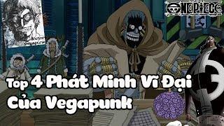 Top 4 Phát Minh Vĩ Đại Của Vegapunk Trong One Piece