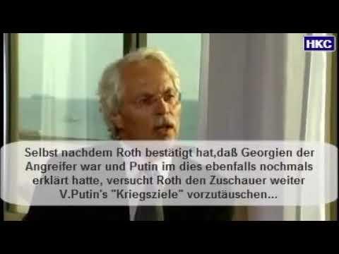 ARD Meinungsmache Putin Interview zum Georgienkrieg