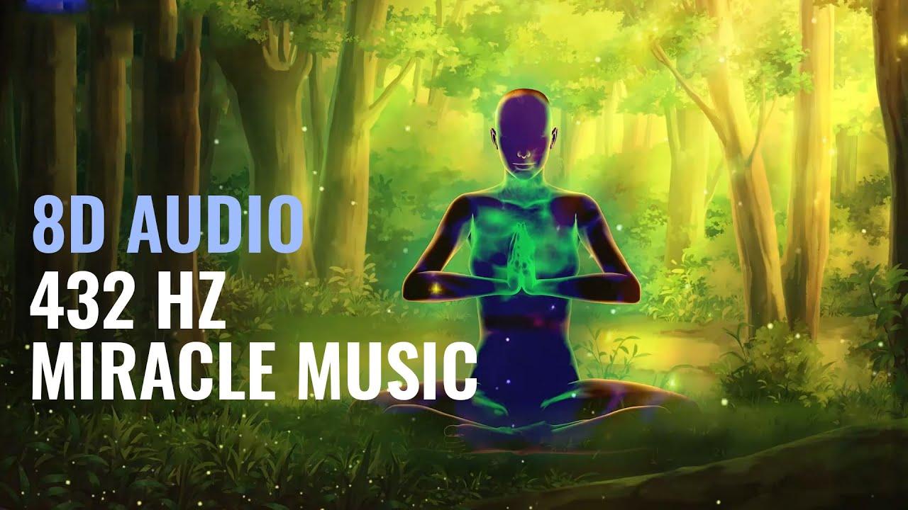 432 Hz Miracle Music [8D Audio]: Subconscious Mind Programming Binaural Beats | Inner Peace