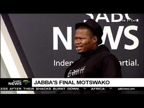 Jabba's final Motswako with DJ Lemonka and hip hop artist Lection