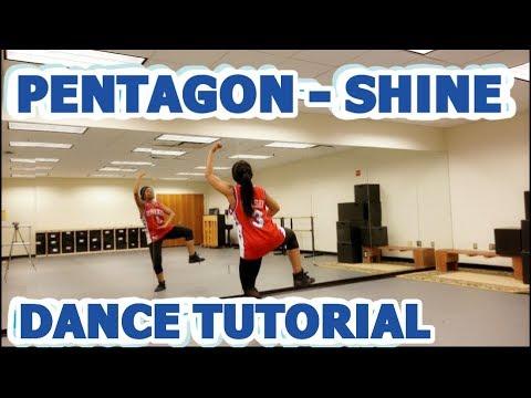 PENTAGON(펜타곤) _ Shine(빛나리) - FULL DANCE TUTORIAL