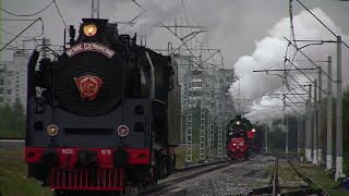 Steam Locomotives Паровозы на ЭКСПО - 1520 (2015) (с 31 августа по 5 сентября)