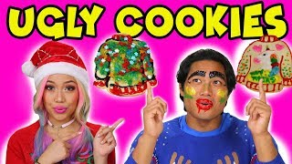 Wengie and Guava Juice? DIY Ugly Christmas Sweater Cookies. Totally TV