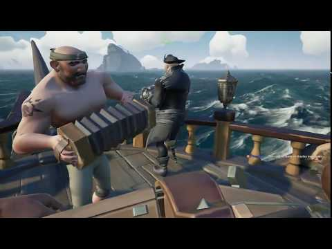 Sea of Theives with a Canadian crew