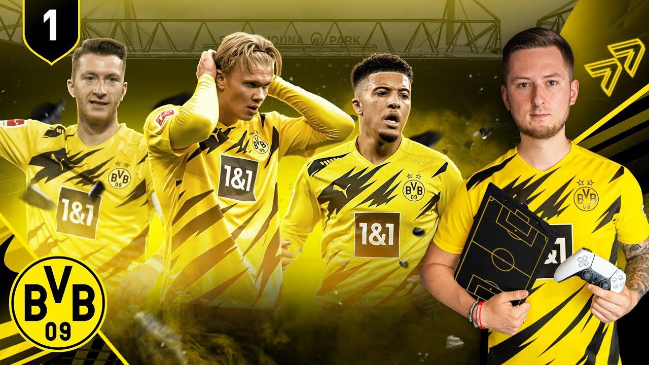 ZACZYNAMY PRZYGODĘ [#1] - FIFA 21 KARIERA BVB