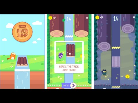 Viber River Jump Android Gameplay (HD)