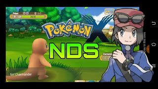 (277MB) Pokemon X Nds Rom(Non Hacked) Highly Compressed For Android