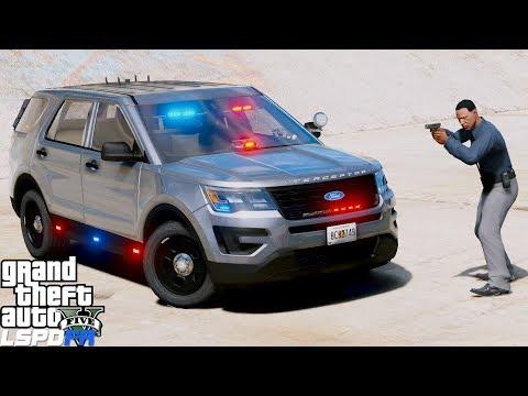 GTA 5 LSPDFR Police Patrol #692 Detective Arrest Murder Suspect - Detective Ace #5