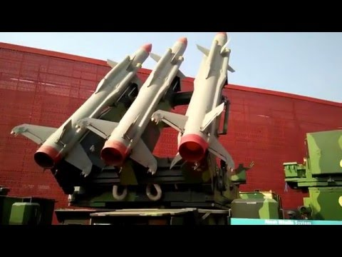 Indian Defence Equipments displayed at Make In India Event
