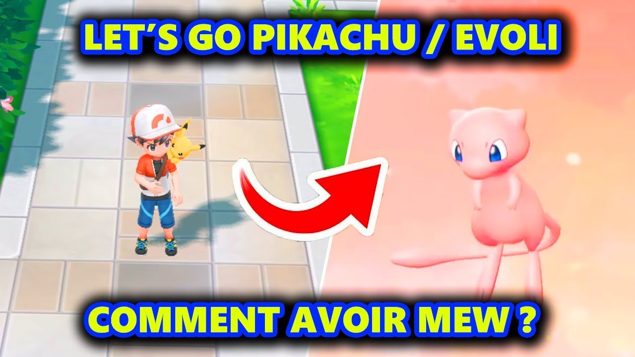 Tuto How To Get Mew By Mystery Gift On Lets Go Pikachu Evoli