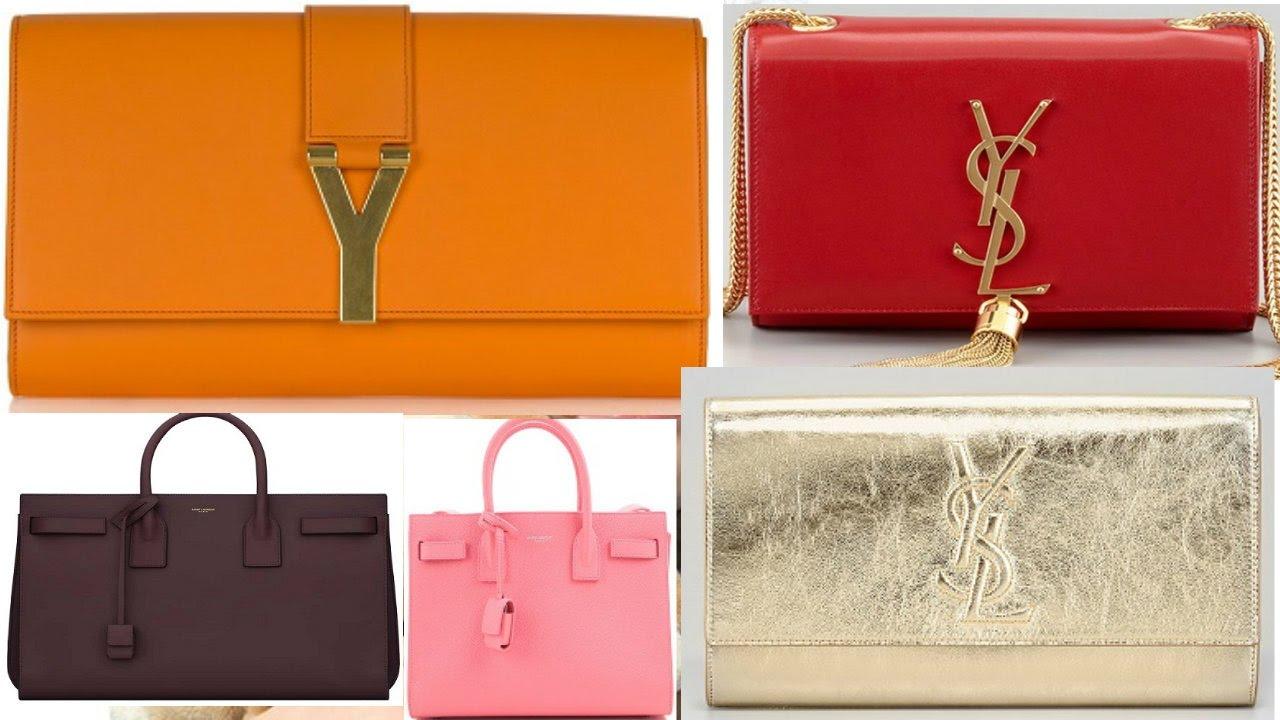 3160e4b3504f YSL Latest Handbags Collection 2018   Fasion Hand Bags - YouTube