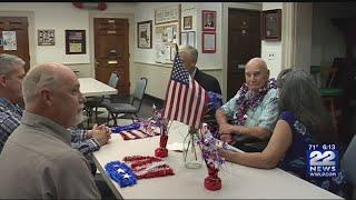 Franklin County World War II veteran honored before 100th birthday