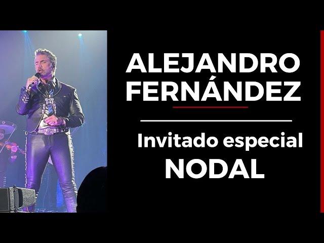 Alejandro Fernández y Christian Nodal, así luce The Forum previo a su concierto