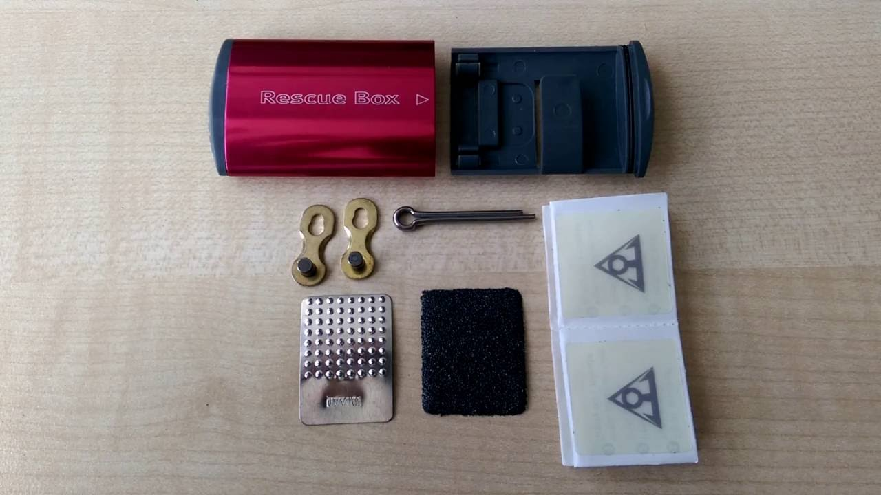 patch box Topeak mini bike tools Rescue Box
