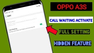 How To Call Waiting Setting
