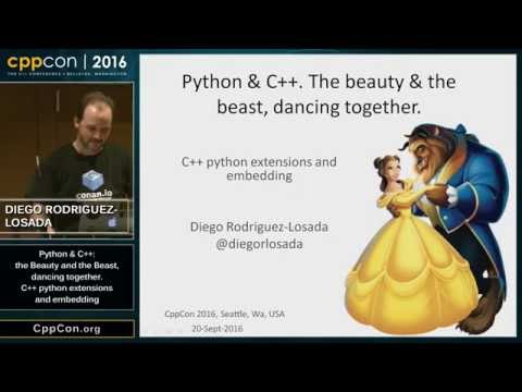 "CppCon 2016: ""Introduction to C++ python extensions and embedding Python in C++ Apps"""
