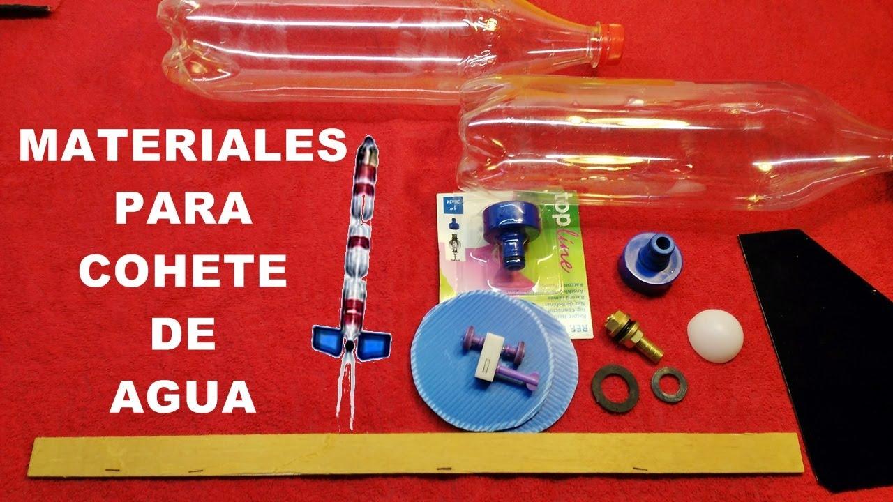 Materiales para cohete de agua youtube for Materiales para un vivero forestal