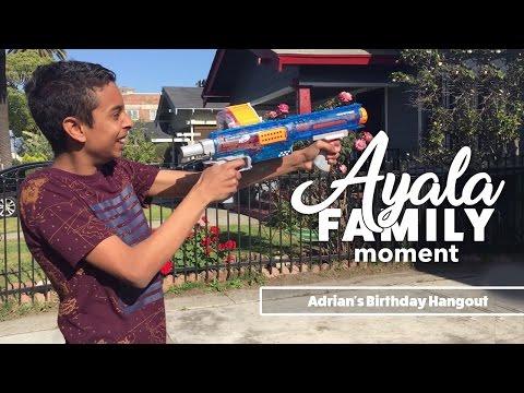 Ayala Family Moment - My son's Birthday hangout